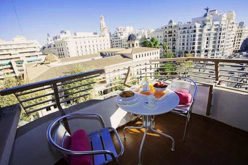 Xativa Terrace Apartments   Valencia: hoteles y apartamentos